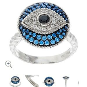 Jusith Ripka Evil Eye Ring
